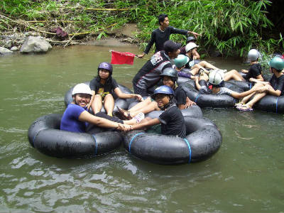 rafting mini magelang, desa wisata gadungsari magelang
