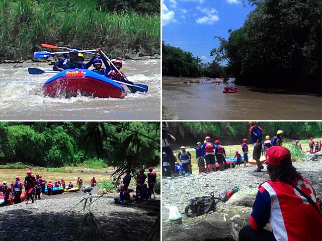 Arung Jeram aman Progo Rafting